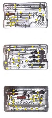INTRAMEDULLARY NAIL REMOVAL SURGERY INSTRUMENT SET ORTIMPLANT