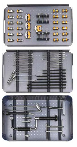 TUBULAR EXTERNAL FIXATOR SURGERY INSTRUMENT SET ORTIMPLANT