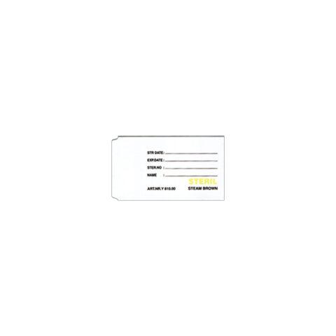 kagıt etiket indikator ortımplant